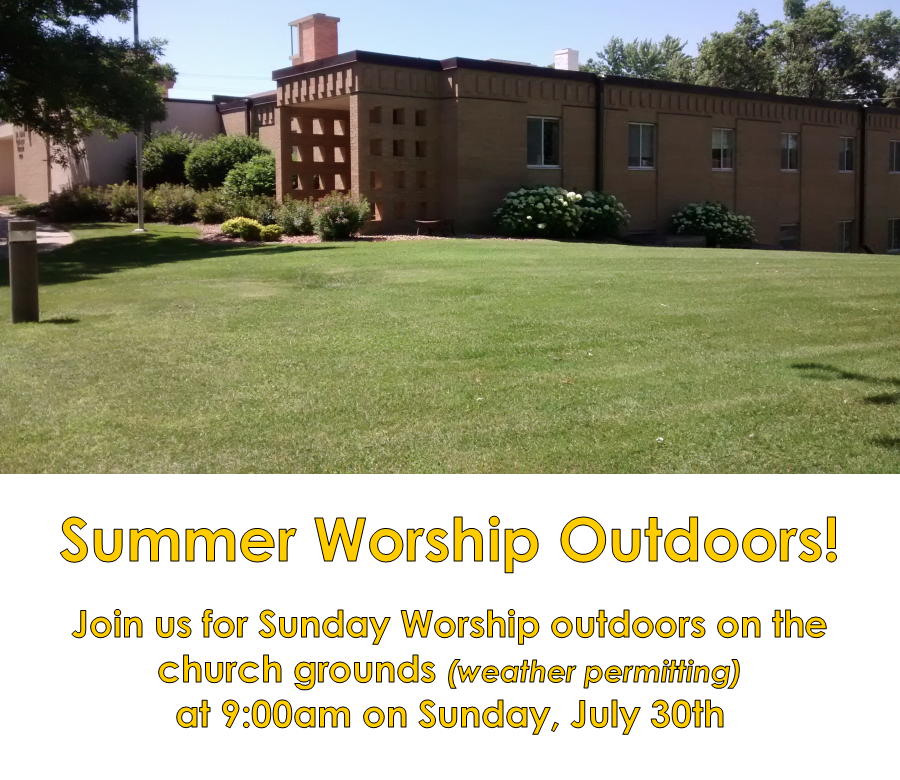 outdoor worship July 2017